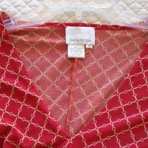 Donna Morgan wrap-style dress